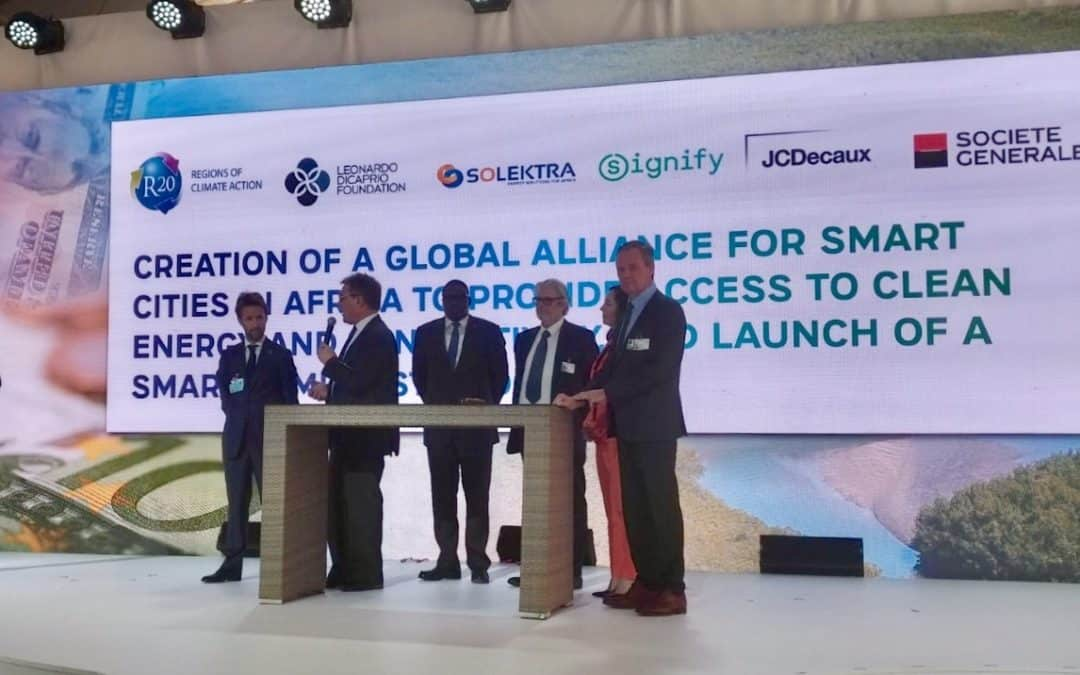 March 15, 2019 – ADS' solar subsidiary Solektra joins the Global Alliance for Smart Cities and Villages in Africa