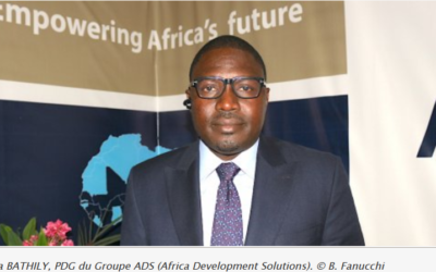 5 November 2019  Samba Bathily urges africans to mutualize efforts for infrastructure deployment