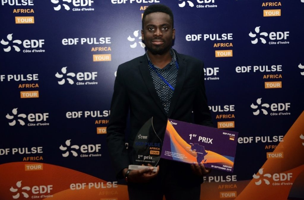 1 october 2019 Samba Bathily supports energy innovations as jury member of EDF Pulse Africa