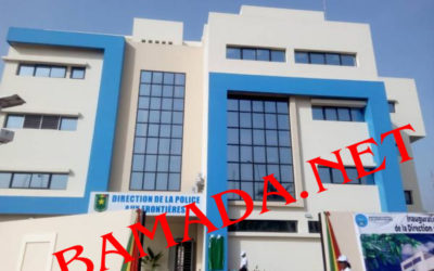 20 March 2020 – In Bamako, official inauguration of the building dedicated to the production and distribution of latest-generation passports and bio-visas to Malian citizens
