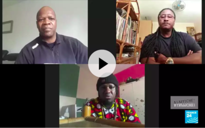 21 April 2020 – On France 24, Samba Bathily calls African artists for action against COVID-19