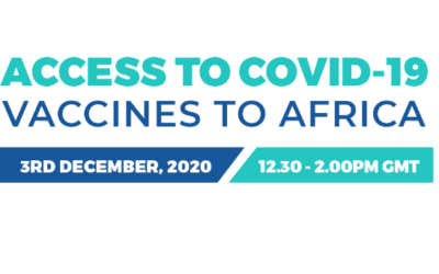 1st December 2020 – ADS GLOBAL COVID19 WEBINAR PRESS RELEASE